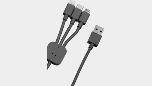 Buy Portronics POR 013 Lightning, Micro USB