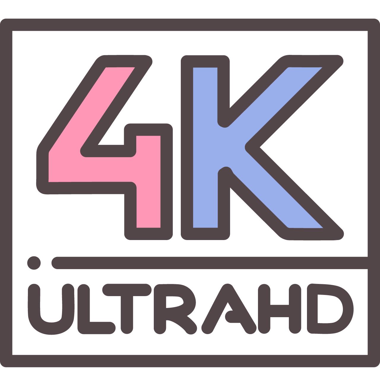 4K Ultra HD (3840x2160 pixels)